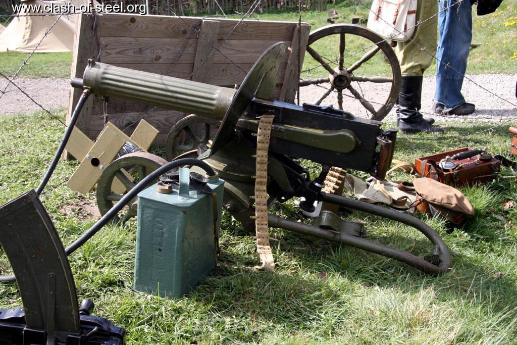 Royal Gate Dodge >> Clash of Steel, Image gallery - World War 1 Russian Maxim Machine Gun - MUR3_ww1russmg3