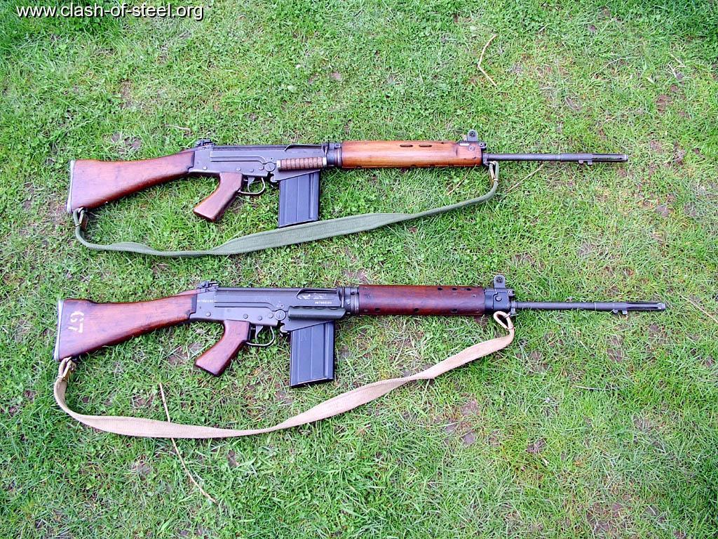 Clash Of Steel Image Gallery British Slr Rifles