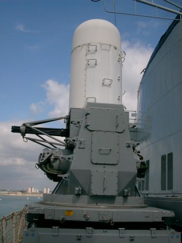 Royal Gate Dodge >> Clash of Steel, Image gallery - Ark Royal, Anti-ship missile defense gun.