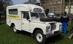 RAF Mountain Rescue Series 3 Land Rover