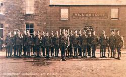 The Newcastleton detachment, 4th Kings Own Scottish Borderers, 1914