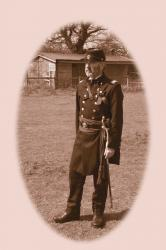 American Civil War - Union officer - ACW union light infantry sepia copy