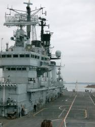 Ark Royal, superstructure