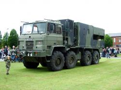 Foden, 8x6 IMMLC with Cobra radar