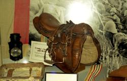 General Piet Cronje's saddle