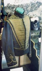 Militia uniform from the 19th century