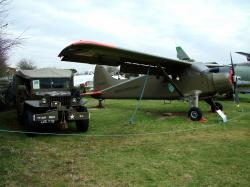 Dodge Weapons Carrier and DHC Beaver