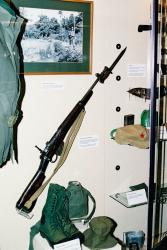 Lee Enfield, Jungle Carbine. Malaysia 1951-54