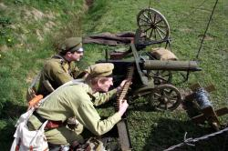 World War 1 Russian Imperial Machine Gun - MUR3_ww1mg1