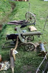 World War 1 Russian Maxim Machine Gun - MUR3_ww1russmg1
