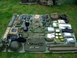 British Army 'Falklands War' personal kit and equipment