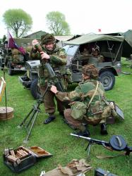 British Paratroopers, Mortar section.