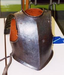 Cavalryman's Back and Brest of the English Civil War period