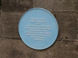 The Battle of Boroughbridge Monument.
