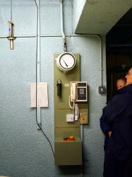 Inside Yorks Cold War Bunker - radiation detectors