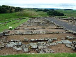 Housteads Roman Fort - Barrack blocks