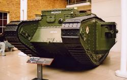 British First World War Mk 5 Tank