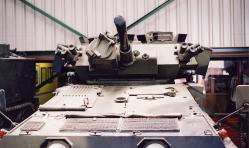 British Scorpion CVR(T) - turret detail