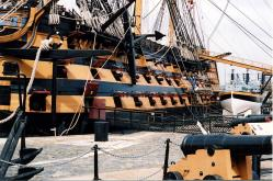 HMS Victory, port side